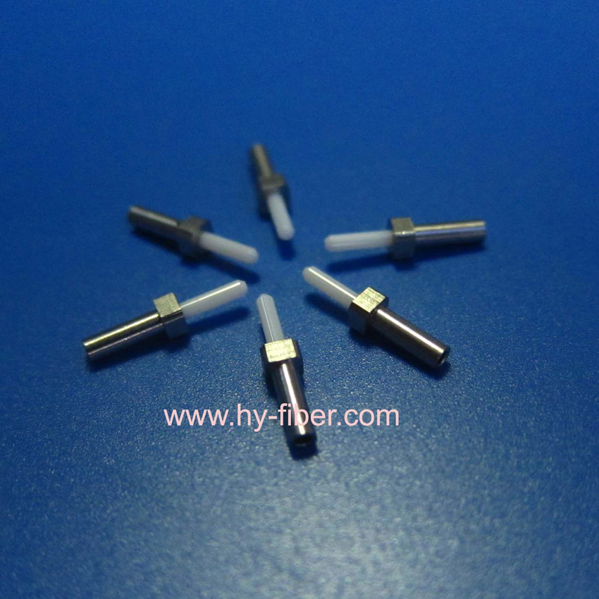 1 25mm Od Single Mode Ceramic Ferrule With Flange For Mu Fiber Connector 1 0mm 200pcs Pack Gh